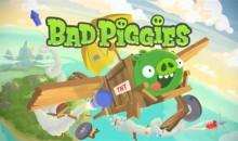 Дебютный ролик Bad Piggies.
