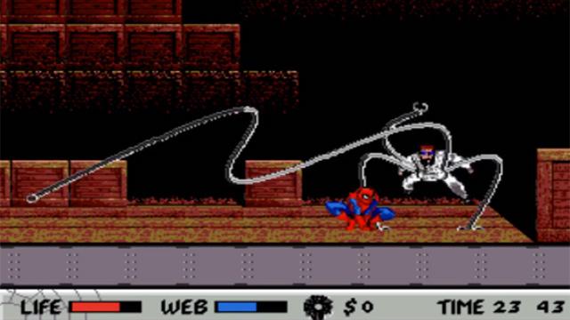 скачать игру Sega человек паук - фото 10