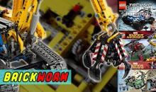 Brickworm — LEGO Excavator (42006) и мои новые наборы