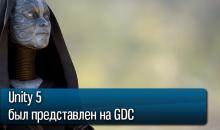 Unity 5 был представлен на GDC