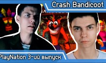 Обзор на Crash Bandicoot (PS1) [3-ий Выпуск]