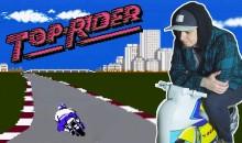 Top Rider — Надувной мотоцикл для Famicom