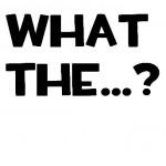 Логотип группы (WHAT THE...?)